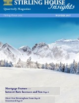Stirling House Insights Cover - Winter 2017